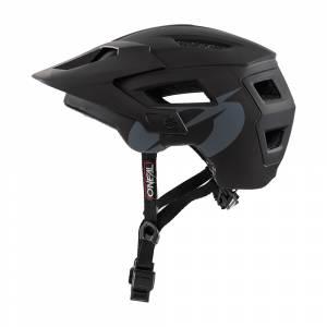 ONeal Defender Solid Black Mountain Bike Helmet