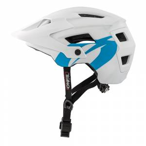 ONeal Defender Solid White Mountain Bike Helmet