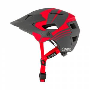 ONeal Defender Nova Grey Red Mountain Bike Helmet