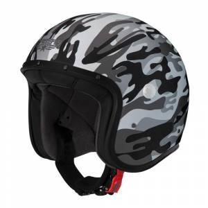 Caberg Freeride Commander Matt White Grey Open Face Helmet