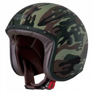 Caberg Freeride Commander Green Open Face Helmet