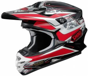 Shoei VFX-W Turmoil TC1 Motocross Helmet