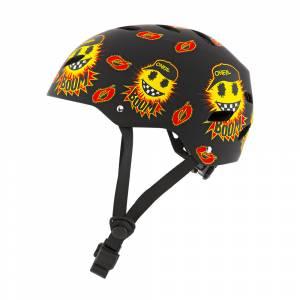 ONeal Kids Dirt Lid Emoji Black Yellow Mountain Bike Helmet