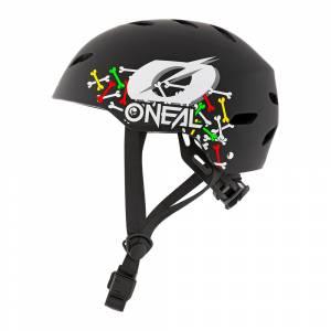 ONeal Kids Dirt Lid Skulls Black Multi Moutain Bike Helmet