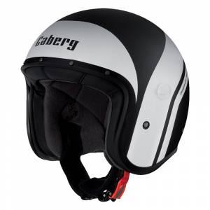 Caberg Freeride Mistral Matt Black White Open Face Helmet