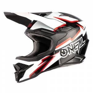 ONeal 3 Series Voltage Black White Motocross Helmet