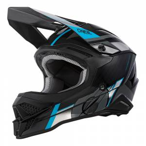 3 Series Vision MX Helmet Black Grey Blue