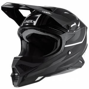 ONeal 3 Series Riff 2.0 Black Grey Motocross Helmet