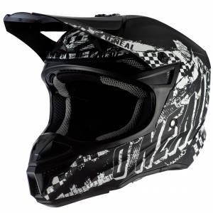 ONeal 5 Series Polyacrylite Rider Black White Motocross Helmet
