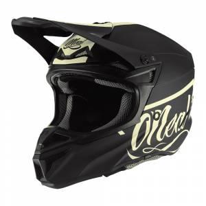 ONeal 5 Series Polyacrylite Reseda Black Beige Motocross Helmet