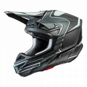 ONeal 5 Series Polyacrylite Sleek Black Grey Motocross Helmet