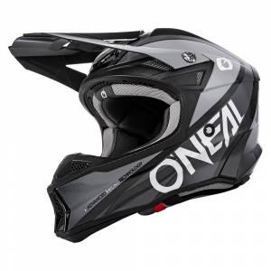 ONeal 10 Series Hyperlite Core Black Grey Motocross Helmet