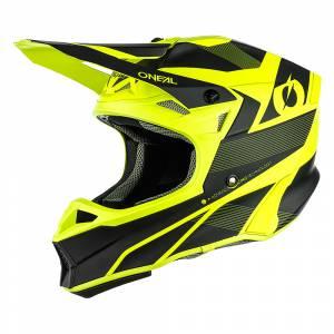 ONeal 10 Series Hyperlite Compact Black Neon Yellow Motocross Helmet