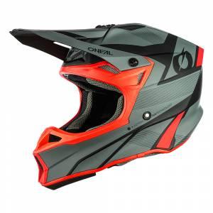 ONeal 10 Series Hyperlite Compact Grey Red Motocross Helmet