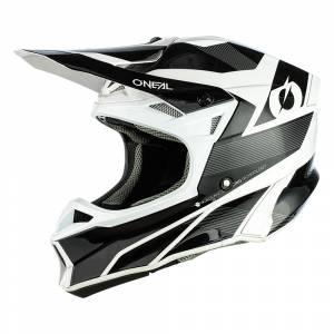 ONeal 10 Series Hyperlite Compact Black White Motocross Helmet