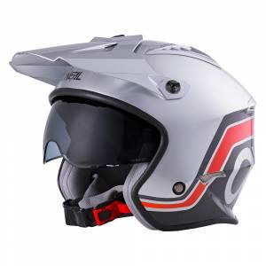 ONeal Volt V1 Silver Open Face Helmet