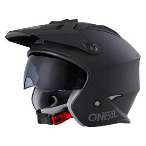 ONeal Volt Solid Black Open Face Helmet
