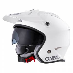 ONeal Volt Solid White Open Face Helmet