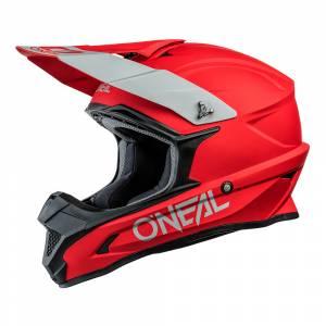 ONeal 1 Series Solid Red Motocross Helmet