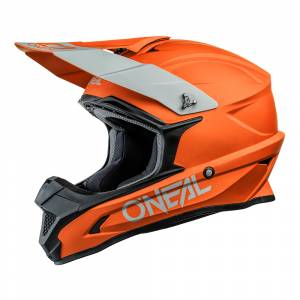 ONeal 1 Series Solid Orange Motocross Helmet