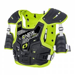 ONeal PXR Stone Shield Black Neon Yellow Chest Protector