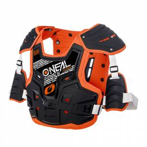 ONeal PXR Stone Shield Black Orange Chest Protector