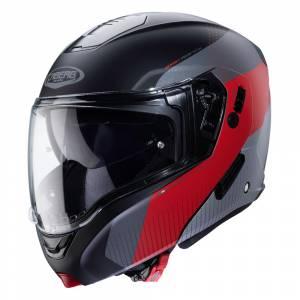 Caberg Horus Scout Matt Black Red Flip Up Helmet
