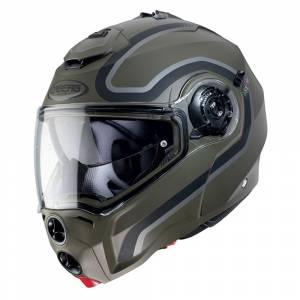Caberg Droid Pure Matt Green Black Anthracite Flip Up Helmet