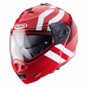 Caberg Duke II Super Legend Red White Flip Up Helmet