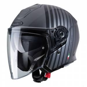 Caberg Flyon Bakari Matt Gunmetal Black Open Face Helmet