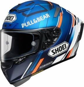 Shoei X-Spirit 3 AM73 TC2 Blue Full Face Helmet