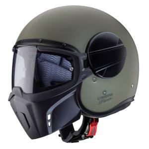 Caberg Ghost Matt Military Green Open Face Helmet