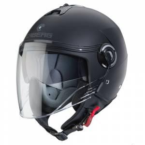 Caberg Riviera V4 Matt Black Open Face Helmet