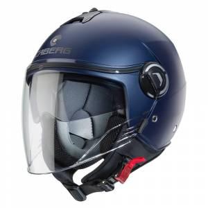Caberg Riviera V4 Matt Blue Open Face Helmet