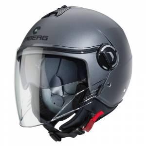 Caberg Riviera V4 Matt Gunmetal Open Face Helmet