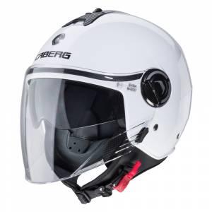 Caberg Riviera V4 White Open Face Helmet