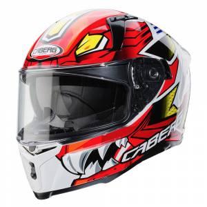 Caberg Avalon Giga White Red Yellow Full Face Helmet