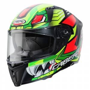 Caberg Avalon Giga Matt Black Yellow Fluo Red Fluo Full Face Helmet