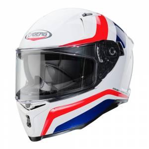 Caberg Avalon Blast White Blue Red Full Face Helmet