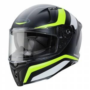 Caberg Avalon Blast Matt Black White Yellow Fluo Full Face Helmet