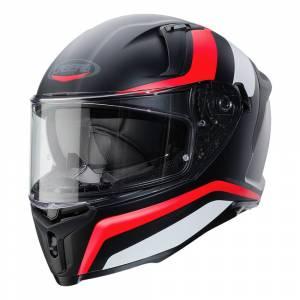 Caberg Avalon Blast Matt Black White Red Fluo Full Face Helmet