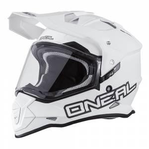 ONeal Sierra 2 Flat White Dual Sport Helmet