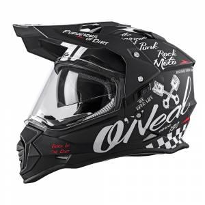 ONeal Sierra 2 Torment Black White Dual Sport Helmet