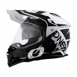 ONeal Sierra R Black White Dual Sport Helmet