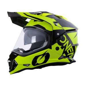 ONeal Sierra R Neon Yellow Black Dual Sport Helmet