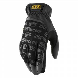 100% Airmatic Navy Fluo Yellow Motocross Gloves