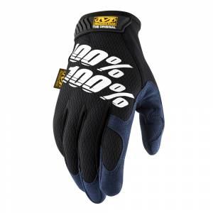 100% Mechanix Original Black Motocross Gloves