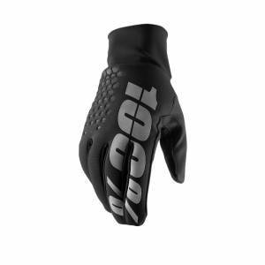 100% Hydromatic Brisker Black Motocross Gloves
