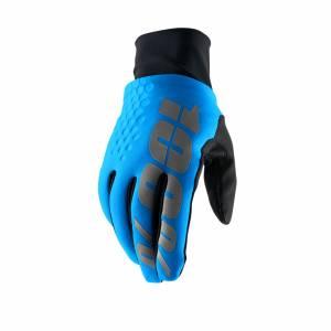 100% Hydromatic Brisker Blue Motocross Gloves