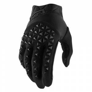 100% Kids Brisker Fluo Orange Cold Weather Motocross Gloves